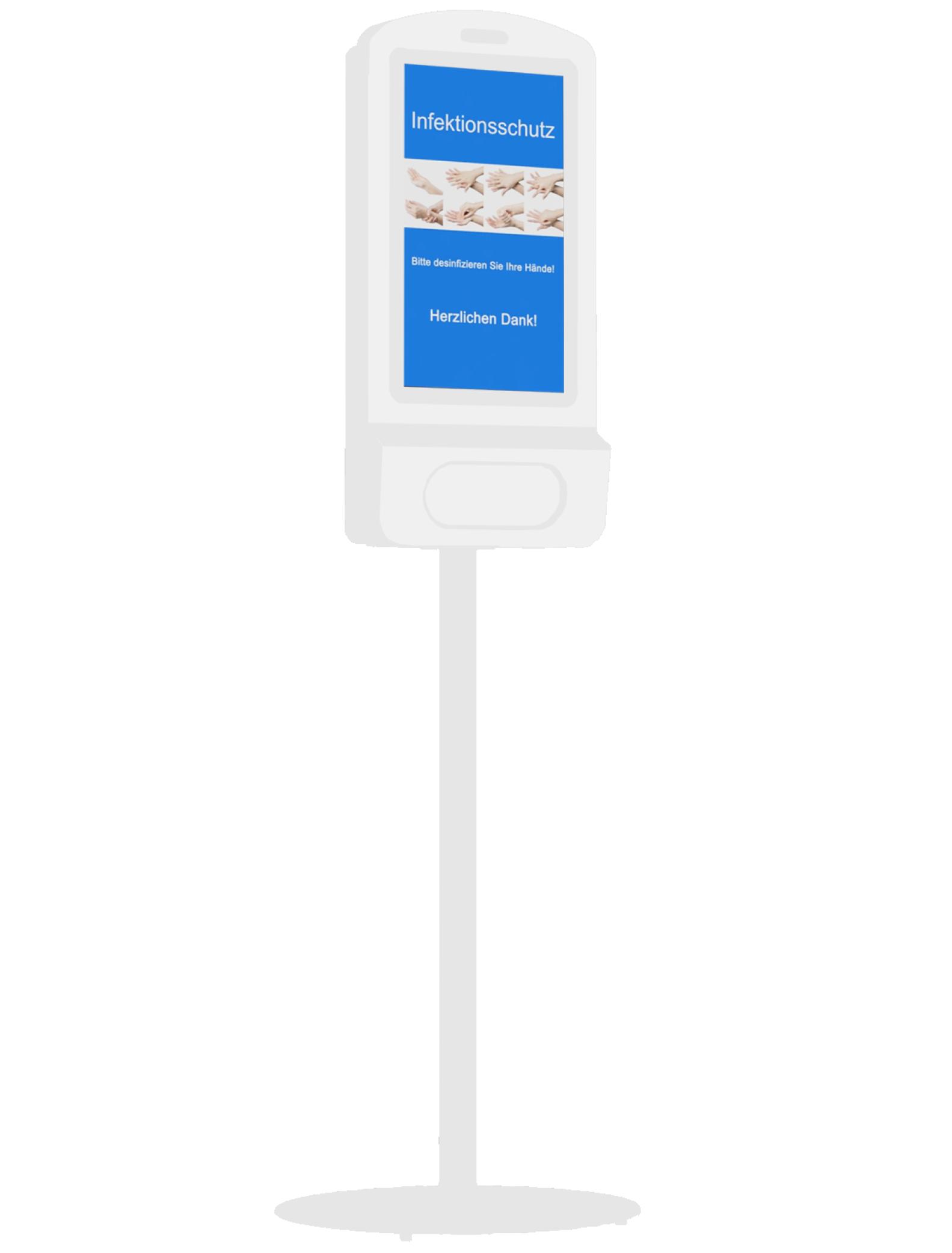 Digitaler Handdesinfektionsspender KIOSK